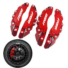 <b>4PCS</b>/<b>Set 3D</b> Red Style Car <b>Universal</b> Disc Brake Caliper Covers ...