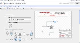 pfd   process flow diagram   online drawingprocess flow diagram drawing template