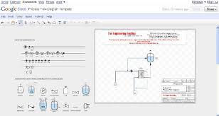 pfd   process flow diagram   online drawingprocess flow diagram drawing template