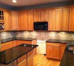 kitchen cabinets with granite countertops: light colored oak cabinets with granite countertop products kitchen backsplash with granite countertops design ideas