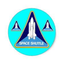 Resultado de imagen para calcomanias de la nasa de los transbordadores espaciales