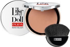 <b>Румяна компактные</b> для лица Pupa <b>Like A</b> Doll Maxi Blush ...