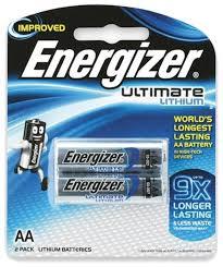 <b>Батарейка Energizer</b> Ultimate <b>Lithium</b> AA — купить по выгодной ...