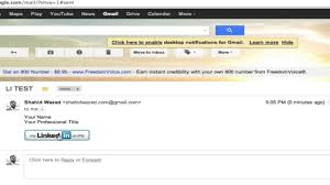 how to customize your linkedin public profile url insert how to customize your linkedin public profile url insert linkedin badge into gmail signature