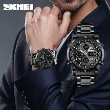 <b>SKMEI</b> Luxury Top <b>Quartz Watch Men's Watch</b> Digital Clock Fashion ...