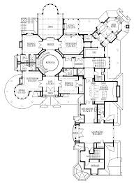 Luxurious House Plans   Front Sloping Lot House Plans Car Garage    Luxury Mansion Home Floor Plans