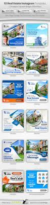 real estate instagram templates by belegija graphicriver 12 real estate instagram templates banners ads web elements