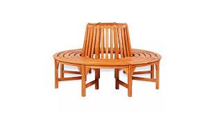 <b>Tree Bench</b> Ø <b>160</b> cm <b>Wood</b> - Matt Blatt