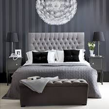 black white gray design bedroom decor with 2 lamp table and sofa bedroom grey white bedroom