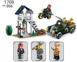 <b>Enlighten</b> Brick Военная база Combat Zone (206 деталей ...