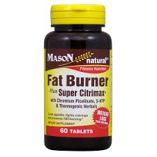 Mason Vitamins <b>Fat Burner Plus</b> Citrimax, 60 Ct - Walmart.com ...