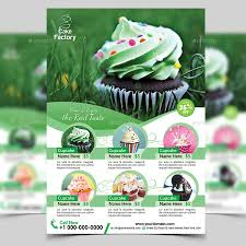 cupcake flyer template by aam360 graphicriver screenshot 1 jpg