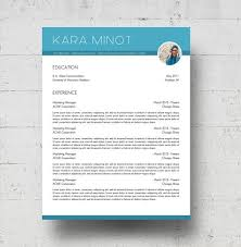 images about resume  amp  cover letters on pinterest   resume    resume  amp  cover letter templates w reference page and photo   the kara minot resume design   instant download   microsoft word