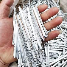 100/200/300 Pcs / Bag <b>Adhesive Metal</b> Flat <b>Aluminum</b> Nose Stripe ...