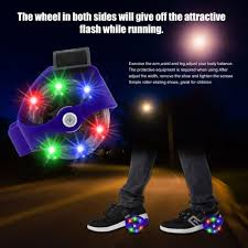<b>Colorful Flashing Roller</b> Small Whirlwind Pulley Flash Wheels Heel ...