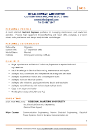 electrical engineer delali amenyitor cv 2016 2