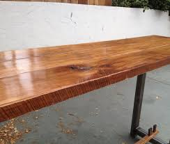 top kitchen table toronto engaging piece maple and metal long table maple and metal console  maple and metal lo