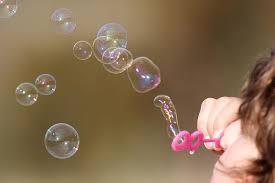 Resultado de imagen de burbujas de jabón