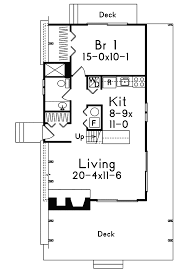 Grantview A Frame Home Plan D    House Plans and MoreVacation House Plan First Floor   D    House Plans and More