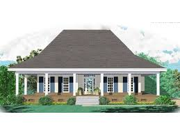 Jeremiah Acadian Home Plan D    House Plans and MoreColonial House Plan Front of Home   D    House Plans and More
