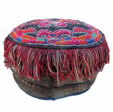 550 <b>Miao Ethnic Minority</b> Padded Child's <b>Hat</b>