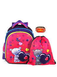 Комплект школьный ранец + мешок для обуви +фонарик UFO ...