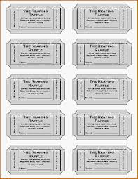 doc 509396 raffle ticket template for word bizdoska com 11 printable raffle ticket template