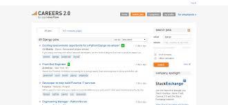 websites for finding django development jobs django job listings stack overflow careers 2 0
