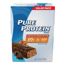 <b>Pure</b> Protein Chocolate <b>Peanut Butter</b> 50 Gram 6 Count Multipack ...