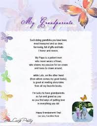 Grand Parents Poem | Parents Day via Relatably.com