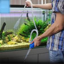 aquarium manual cleaner tool siphon gravel suction pipe filter fish tank vacuum water change pump tools filters accessories