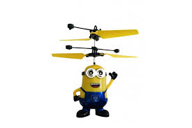 <b>Радиоуправляемый</b> летающий синий миньон Дэйв <b>CS Toys</b> со ...