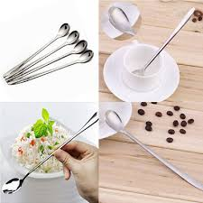 <b>Stainless Steel</b> Fruit Fork Stirring Coffee Spoon <b>Dessert Ice Cream</b> ...