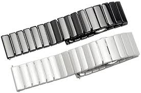 Quick Release Full Ceramic <b>Smart Watch</b> Band <b>Universal Strap</b> ...