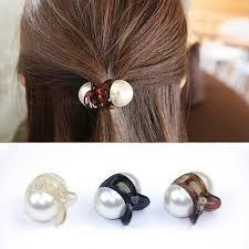 <b>Women Elegant Imitation</b> Pearl <b>Hair Clip Hairpins</b> Claw Clamps ...