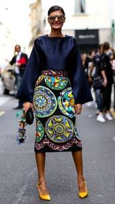 Image result for london fashion week 2015 street style skirt