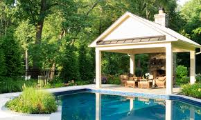 Pool House Design Rockville  MD   Pool House Plans Looking for more space to entertain guests  offer shade from the sun  change for the swimming pool  or provide additional storage  A pool house design is