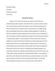econ notes chapter    chapter  the united states in the global   pages ies summit essay estonia