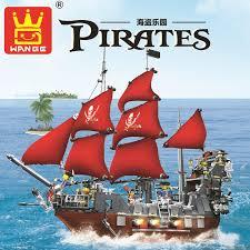 <b>Model building kits compatible</b> with city Pirates ship king 3D blocks ...