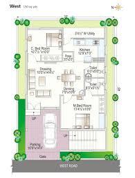 Floor Plan   Navya Homes at Beeramguda  Near BHEL  Hyderabad        Click to view Floor Plan  West Facing