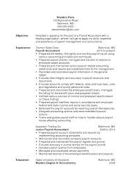 accounting resume pay s accountant lewesmr sample resume sle payroll resume accountant