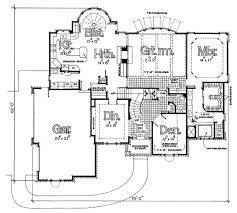 Traditional House Plan     Ultimate Home PlansMAIN LEVEL FLOOR PLAN