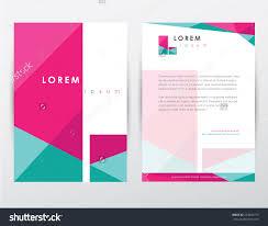 brochure cover letterhead template design letter stock vector brochure cover and letterhead template design letter l logotype sign for company business presentations and
