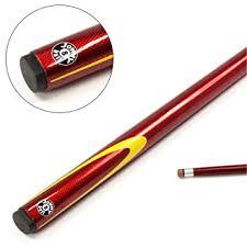 Jonny 8 ball 57 Inch RED <b>VENOM</b> Genuine Graphite <b>2pc</b> Pool ...