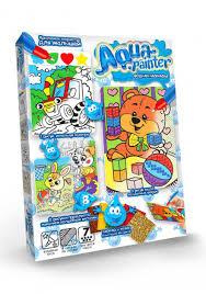 Набор для творчества <b>Danko Toys</b> Водная <b>раскраска Aqua</b> ...