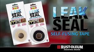 Rust-Oleum Industrial- Leak <b>Seal</b> Self Fusing <b>Tape</b> - YouTube