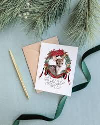 <b>Happy New Deer</b> Greeting Card – Cami Monet