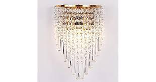 Mihaojianbing European <b>Crystal Wall</b> Lamp Living Room Bedroom ...