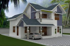BHK Stylish Kerala style low cost house   Indian Home design    Home specification