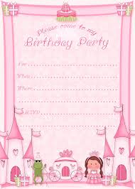 beateous simple pink card birthday party invitation cards and birthday party invitation r tic kids birthday invitation template pink color and black letterings